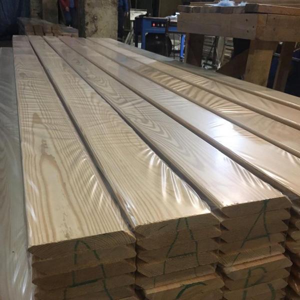 Rhombusleisten Sibirische Lärche 20 x 140 x 3000 mm