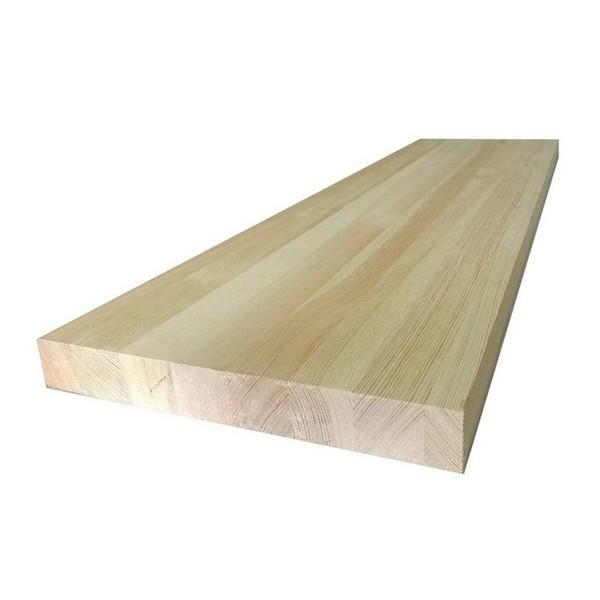 Leimholzplatte Massiver Kiefer 18 x 200 x 900 mm