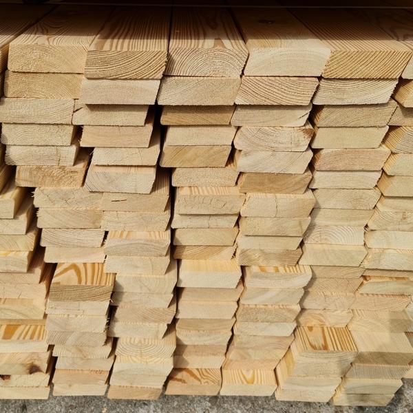 Rhombusleisten Sibirische Lärche 30 x 95 mm