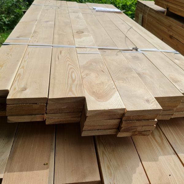 Rhombusleisten Sibirische Lärche 22 x 142 mm