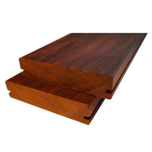 Terrassendielen Saunaprofilholz Thermoholz Pappel 25 x 130 mm